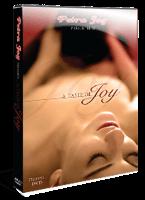 """Sur l'affiche de """"A taste of joy"""", la tête d'un homme entre les cuisses d'une femme."""