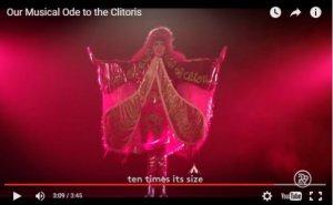 La chanteuse Dorian Electra, déguisée en clitoris, dans son joyeux clip.