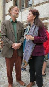 Michel Froidevaux et Véronique Willemin.