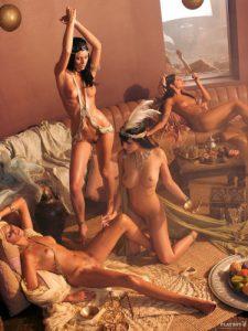 L'atelier «Peinture sur corps, donner corps à la peinture».
